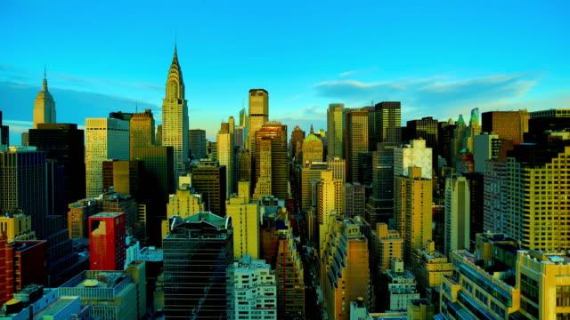 New York City: Skyline wide-view