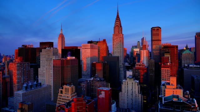 New York City Sunrise video
