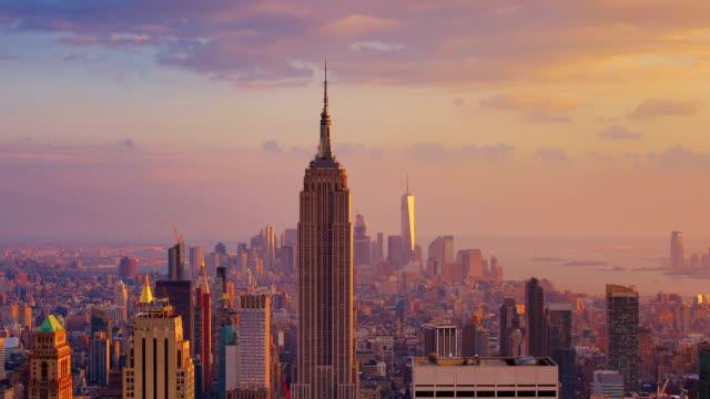 New York City: Sunset (day to night)
