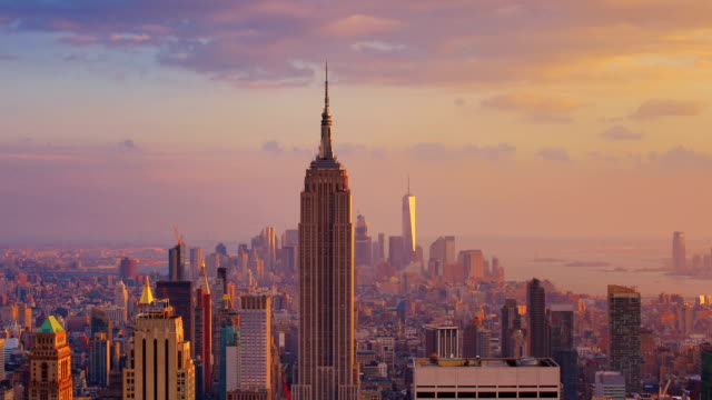 New York City: Sunset (day to night) video