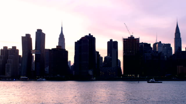 New York City Sunset video
