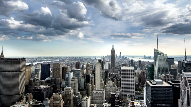 new york city view - panorering bildbanksvideor och videomaterial från bakom kulisserna
