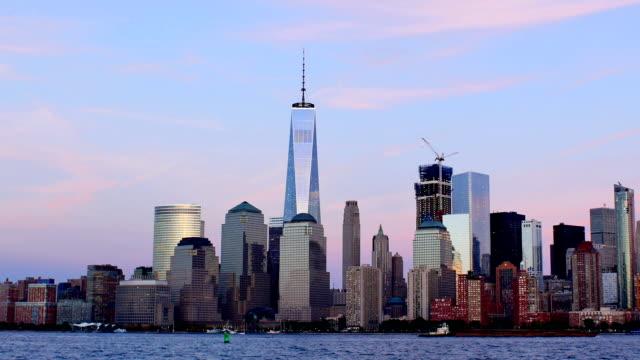 new york city: world trade center och midtown series - strandnära bildbanksvideor och videomaterial från bakom kulisserna