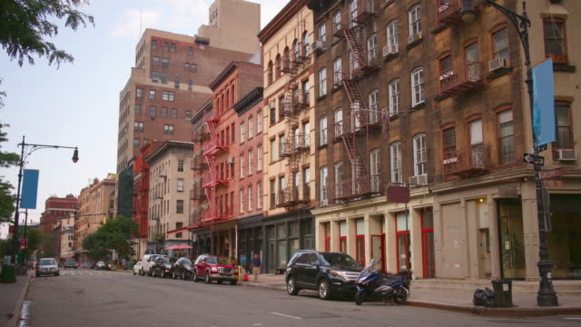 new york day light street life 4k time lapse usa video