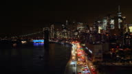 istock New York Downtown skyline - Aerial View after sunset 1194874502
