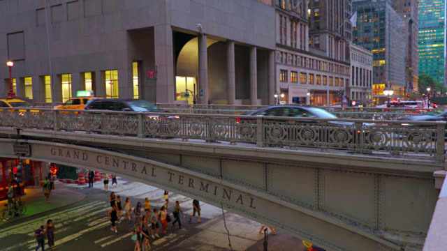 New York. Grand Central Terminal, park ave video