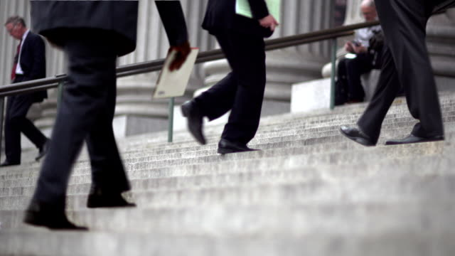 CINEMAGRAPH -New York Man Up Business Stairs video