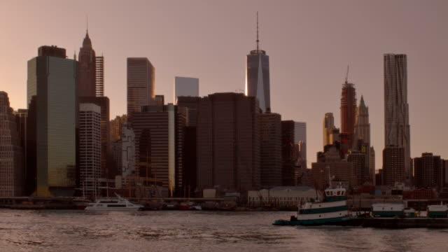 New York Manhattan aerial video
