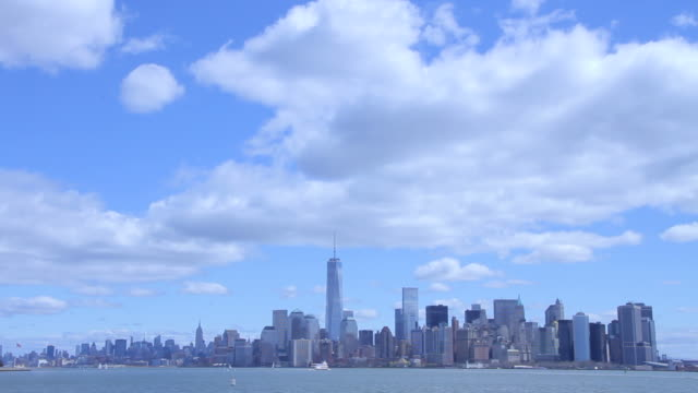 New York Skyline From Staten Island video