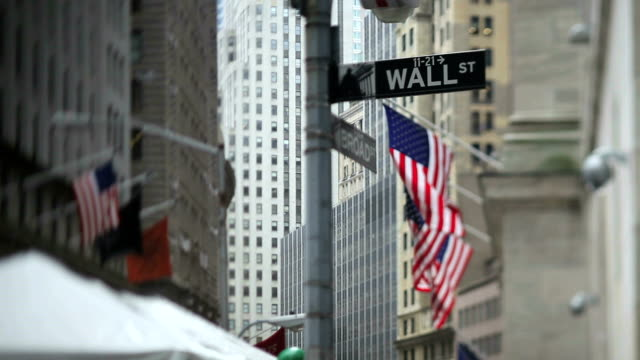 New York Stock Exchange (Tilt Shift Lens) video