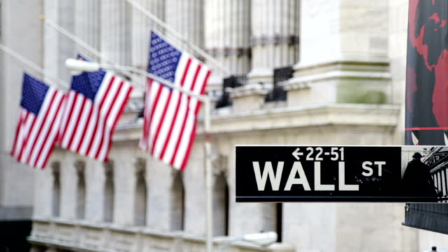 New York Stock Exchange - Wall Street video