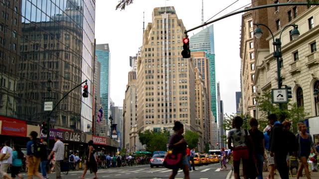 New York street, manhattan video