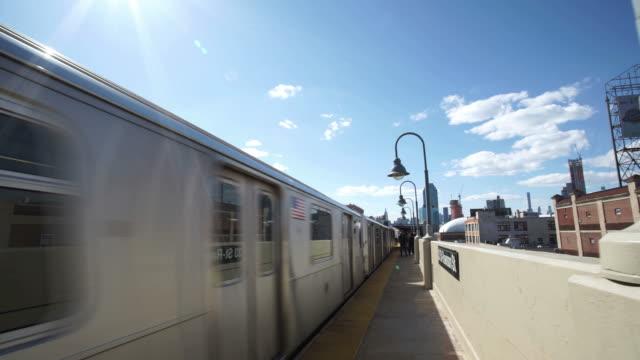New York Subway Platform video