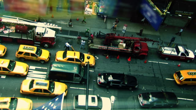 New York taxi video