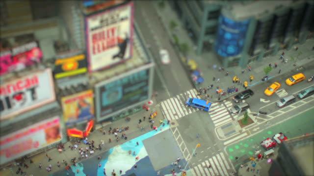 New York Times Square Tilt Shift video