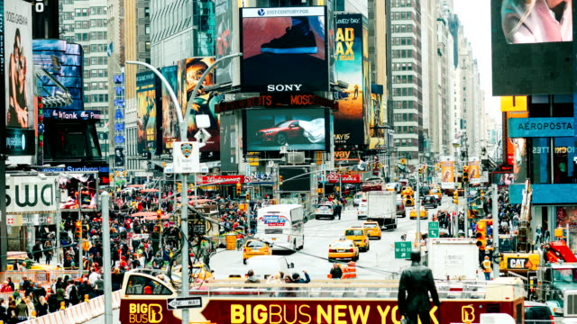 New York Times Square Time Lapse video