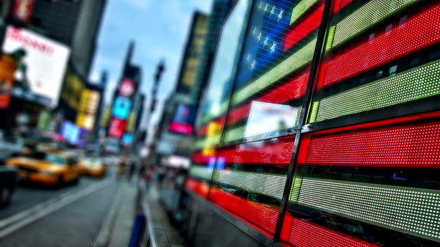 New York times square video