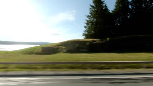 vídeos de stock e filmes b-roll de new york xxv left side series driving studio process plate - car view