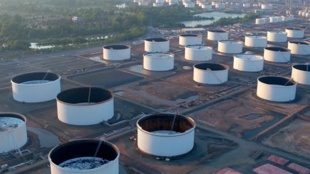 Newark bay aerial footage: Oil refineries Newark bay aerial footage: Not drone footage gas pipe stock videos & royalty-free footage