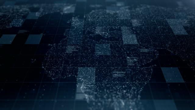news and business background - mapa świata filmów i materiałów b-roll