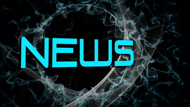 News broadcast design video
