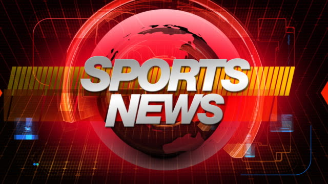 SPORTS News - Broadcast Graphics Title video