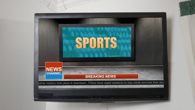 News Broadcast Title Series - Sports Graphic ALT