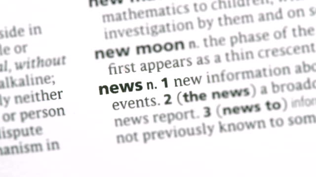 News highlighted in green video