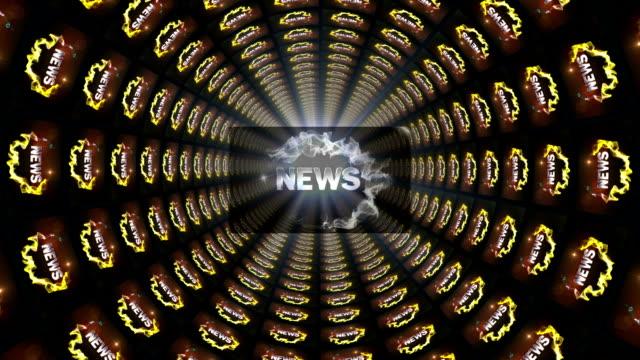 news symbol in tunnel - paper mass bildbanksvideor och videomaterial från bakom kulisserna