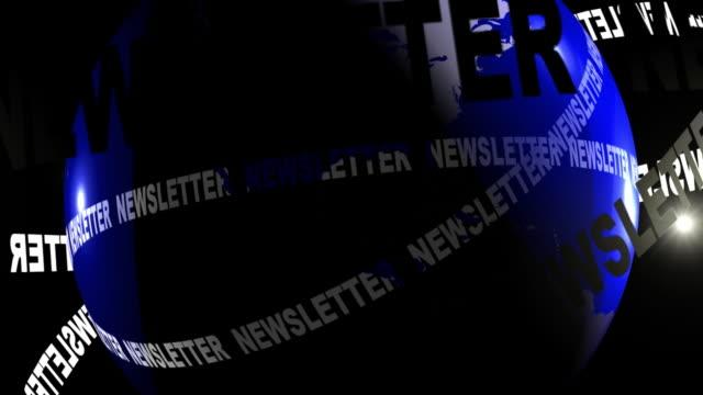 newsletter europa telecamera spostare - newsletter video stock e b–roll