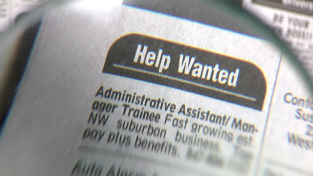 newspaper help wanted video