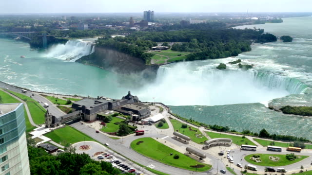 Niagara Falls Aerial video