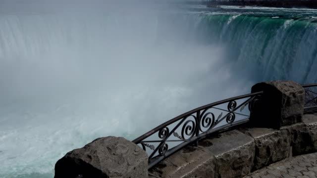 Video Niagara Falls in summer, Ontario, Canada.