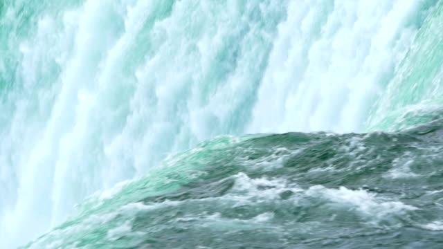 vídeos de stock, filmes e b-roll de niagara falls câmera lenta - rio niagara
