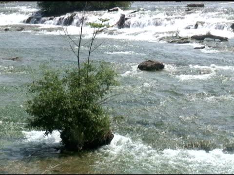 vídeos de stock, filmes e b-roll de niagara cabedal rapids 21-ntsc - rio niagara
