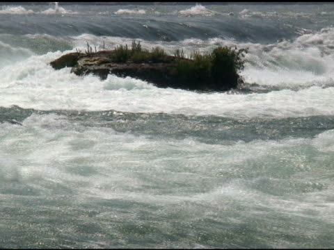vídeos de stock, filmes e b-roll de niagara cabedal rapids 26-ntsc com som - rio niagara
