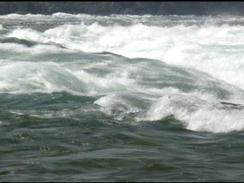 vídeos de stock, filmes e b-roll de niagara cabedal rapids 33-ntsc com som - rio niagara