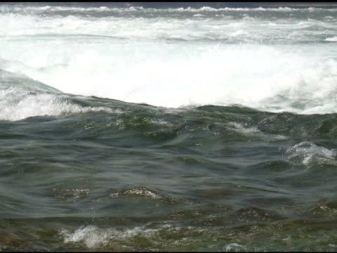 vídeos de stock, filmes e b-roll de niagara cabedal rapids 34-ntsc - rio niagara