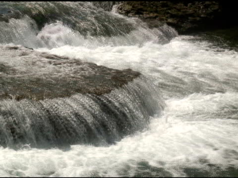 vídeos de stock, filmes e b-roll de niagara cabedal rapids 8-ntsc - rio niagara