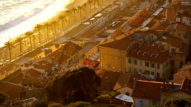 Nice City Promenade Beach - video