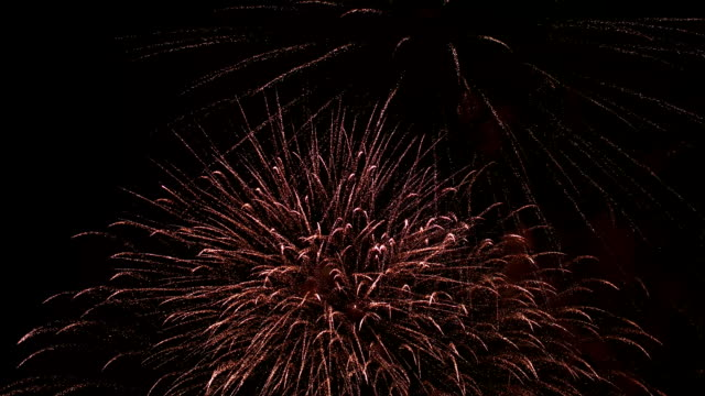 Night beautiful, colorful fireworks Night beautiful, colorful fireworks FullHD bastille day stock videos & royalty-free footage