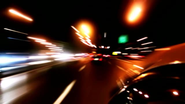 Night city drive - HD720 video