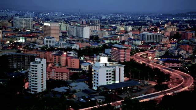 night city - pattaya bildbanksvideor och videomaterial från bakom kulisserna