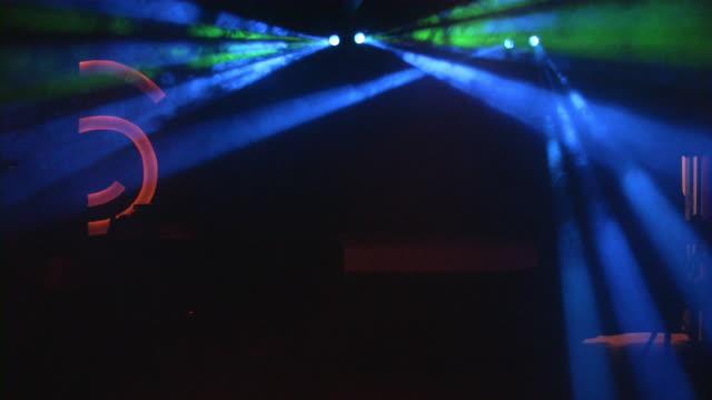 Night club, entertainment lighting equipment. video