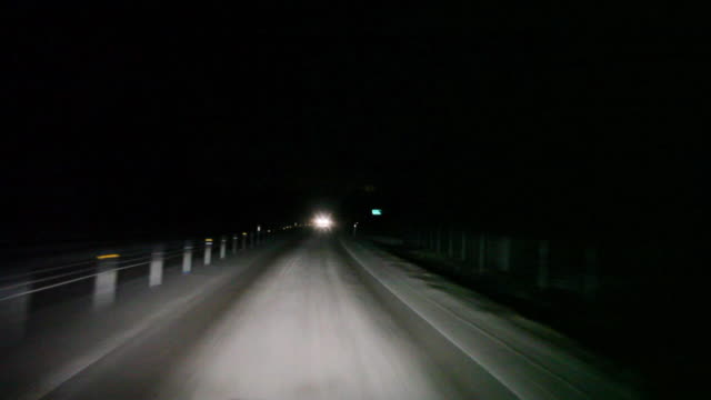 Night Driving video