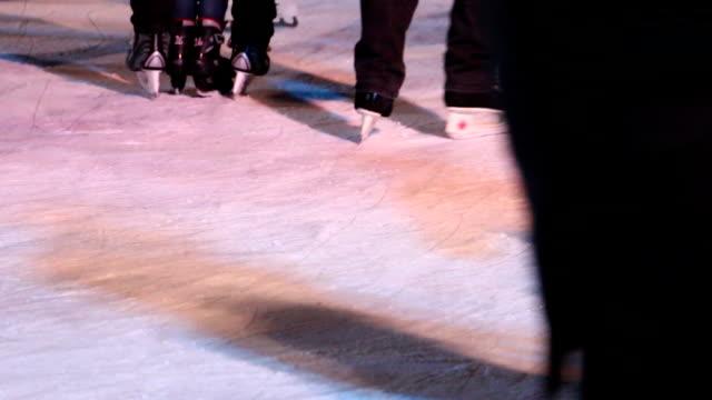 Night Ice Skating video