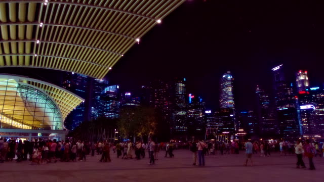 Night in singapore video