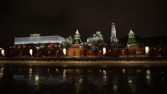 natt kreml visa - kreml bildbanksvideor och videomaterial från bakom kulisserna