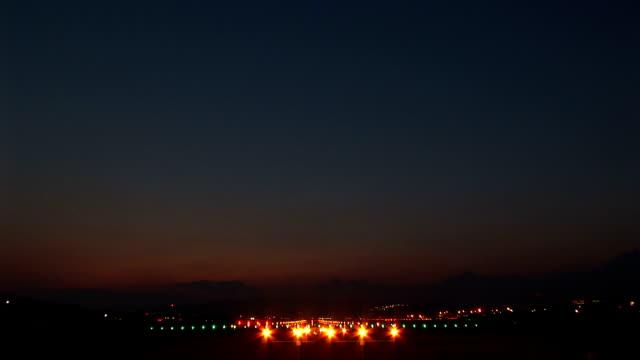 night landing video