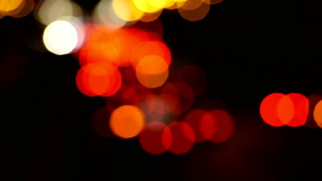 Night Lens Flare video